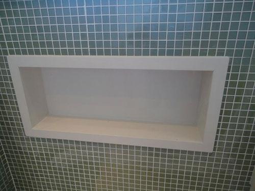 Di Pietra Porcelanatos -> Nicho Banheiro Marmoglass